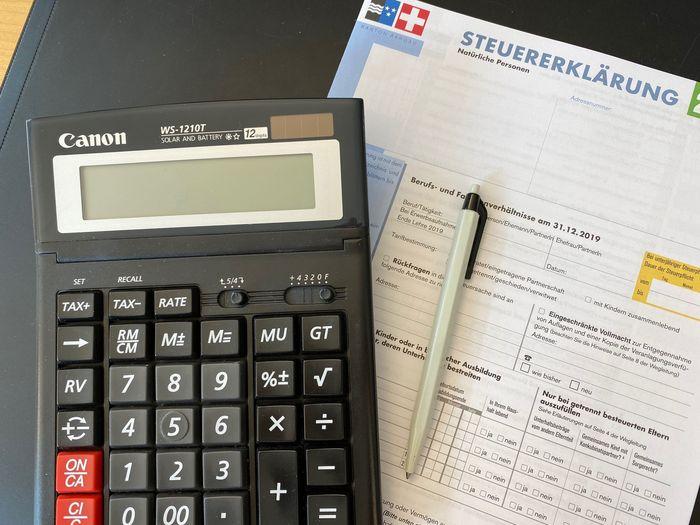 Abgabe Steuererklärung 2019
